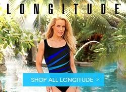 6120b783bdf40 Longitude Mazunte Long Torso Scoopback High Neck One Piece Swimsuit