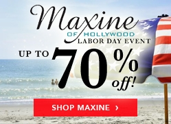 Maxine of Hollywood Up To 70% Off Billboard
