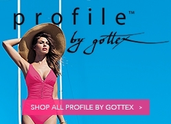 bec8ed55cba54 Profile by Gottex Serendipity Plus Size Flyaway Bandeau One Piece Swimsuit